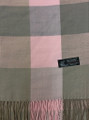Cashmere Feel Scarves Pink / Gray K 69-42
