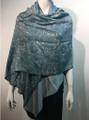 Pashmina Paisley  Blue / Teal  dozen #50-6