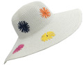 Fashion  Wide Brim Adjustable Straw Sun Hat Assorted Dozen # H 8053