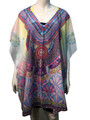 New ! Fashion Cover Up Summer Poncho #9003-1