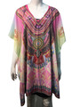 New ! Fashion Cover Up Summer Poncho #9003-3