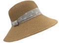 Fashion Summer Straw Hat Khaki # H 8056-1