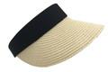 Fashion Summer Straw Visor Hat Assorted Dozen # H 8078