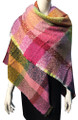 Womens Blanket Scarf Winter Soft  Wrap Shawl  Hot Pink # S 993-3