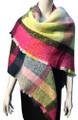 Womens Blanket Scarf Winter Soft  Wrap Shawl   Assorted Dozen # S 993