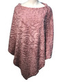 New ! Ladies' Stylish  Poncho Pink # P245-5