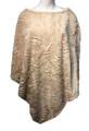 New ! Ladies' Stylish  Poncho Beige # P246-4