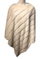 New! Elegant Women's - Faux Fur  Poncho  Cape Ivory # P247-4