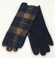 New! Fashion Touchscreen Checkered Plaid Gloves Assorted dozen # G2093