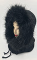 New! Soft Faux Fur Infinity Hooded Scarf Assorted Dozen #H1277