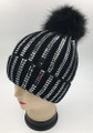 New! Fashion Sequin Beanie Black #H1276-9