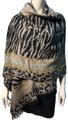 New !   Fashion Long Soft Plaid warm Shawl Scarf  Black # 990-1