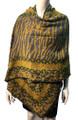 New !   Fashion Long Soft Plaid warm Shawl Scarf  Yellow # 990-5