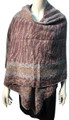 New !   Fashion Long Soft Plaid warm Shawl Scarf Pink # 990-7