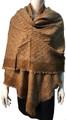 New !   Fashion Long Soft Plaid warm Shawl Scarf Khaki # 995-7