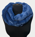New! Cozy and Warm Faux Fur Cowl Neck Infinity Scarf Teal #S606-6