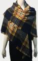 New! Women's Plaid Blanket Scarf Assorted Dozen #991