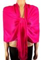 Pashmina Solid Hot Pink #2-21
