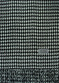 Cashmere Feel Houndstooth Scarves Black/white K 72-6