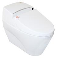 Euroto Luxury Smart Toilet, Heated Seat, Motion Detection, Auto Flush with Touch Pad (One-piece, Smart Toilet)