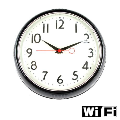 WiFi Wall Clock Hidden Camera