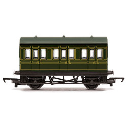HORNBY Coach R4672 SR 4 Wheel Coach - Railroad