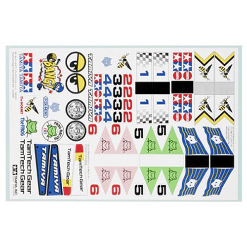 Tamiya 40521 Flag Sticker Set - RC Hop-ups