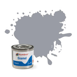 HUMBROL 64 Light Grey Matt Enamel 14ml Model Kit Paint