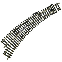 HORNBY Track Single 1x R8074 Left Hand Curved Point