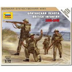 ZVEZDA 6166 British Infantry 1939-1942 Model Kit 1:72