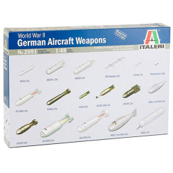 ITALERI WWII German Weapons 2691 1:48 Aircraft Model Kit