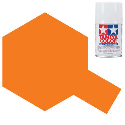 TAMIYA PS-7 Orange Polycarbonate Spray Paint 100ml Lexan RC Car Body