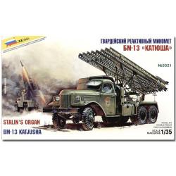 ZVEZDA 3521 BM-13 Katiusha Military Model Kit 1:35