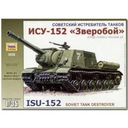 ZVEZDA 3532 Sp Gun ISU-152 Tank Model Kit 1:35