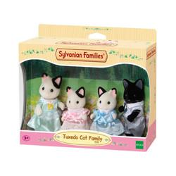 Tuxedo Cat Family - SYLVANIAN Families Figures 5181