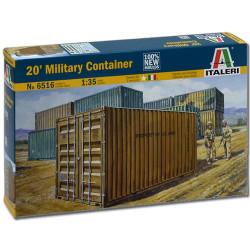 ITALERI 20ft Container 6516 1:35 Military Vehicle Model Kit