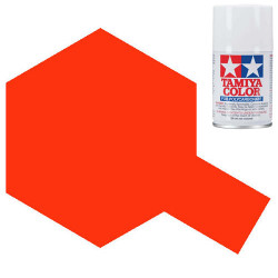 TAMIYA PS-24 Fluorescent Orange Polycarbonate Spray Paint 100ml RC Car Body