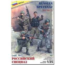 ZVEZDA 3561 Russian Special Forces Model Kit Figures 1:35