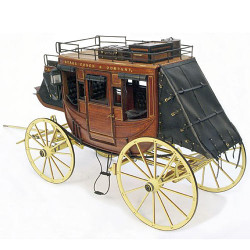 ARTESANIA LATINA Stage Coach 1948 20340 1:10 Model Kit