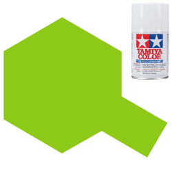 TAMIYA PS-28 Fluorescent Green Polycarbonate Spray Paint 100ml Lexan RC Car Body