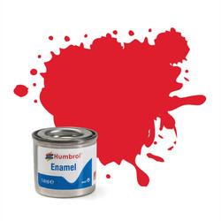 HUMBROL 19 Bright Red Gloss Enamel 14ml Model Kit Paint