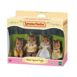 SYLVANIAN Families Walnut Squirrel Family -  Figures 4172