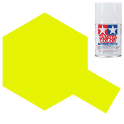 TAMIYA PS-27 Fluorescent Yellow Polycarbonate Spray Paint 100ml RC Car Body