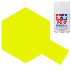 TAMIYA PS-27 Fluorescent Yellow Polycarbonate Spray Paint 100ml RC Car Body