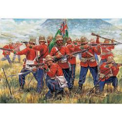 ITALERI Zulu Wars - British Infantry 6050 1:72 Figures Model Kit