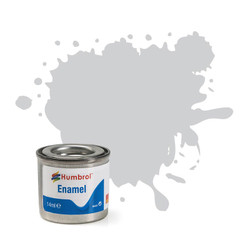 HUMBROL 147 Light Grey Matt Enamel 14ml Model Kit Paint