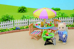 Garden Barbecue Set - SYLVANIAN Families Figures 4869