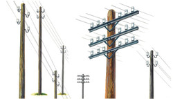 ITALERI Telegraph Poles 404 1:35 Model Kit