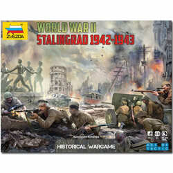 ZVEZDA 6260 Battle For Stalingrad WWII Art of Tactic 1:72 Model Kit
