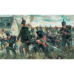 ITALERI Napoleonic Wars British Green Jackets 6083 1:72 Figures Kit
